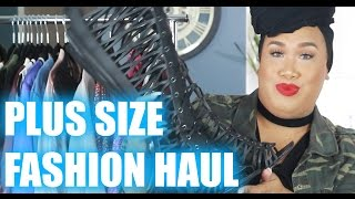 PLUS SIZE FASHION HAUL | PatrickStarrr