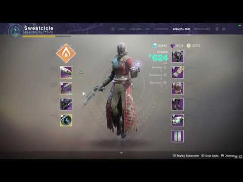 My 624 POWER Warlock - Prep for Scourge of the Past Raid Friday | Destiny 2 Black Armory