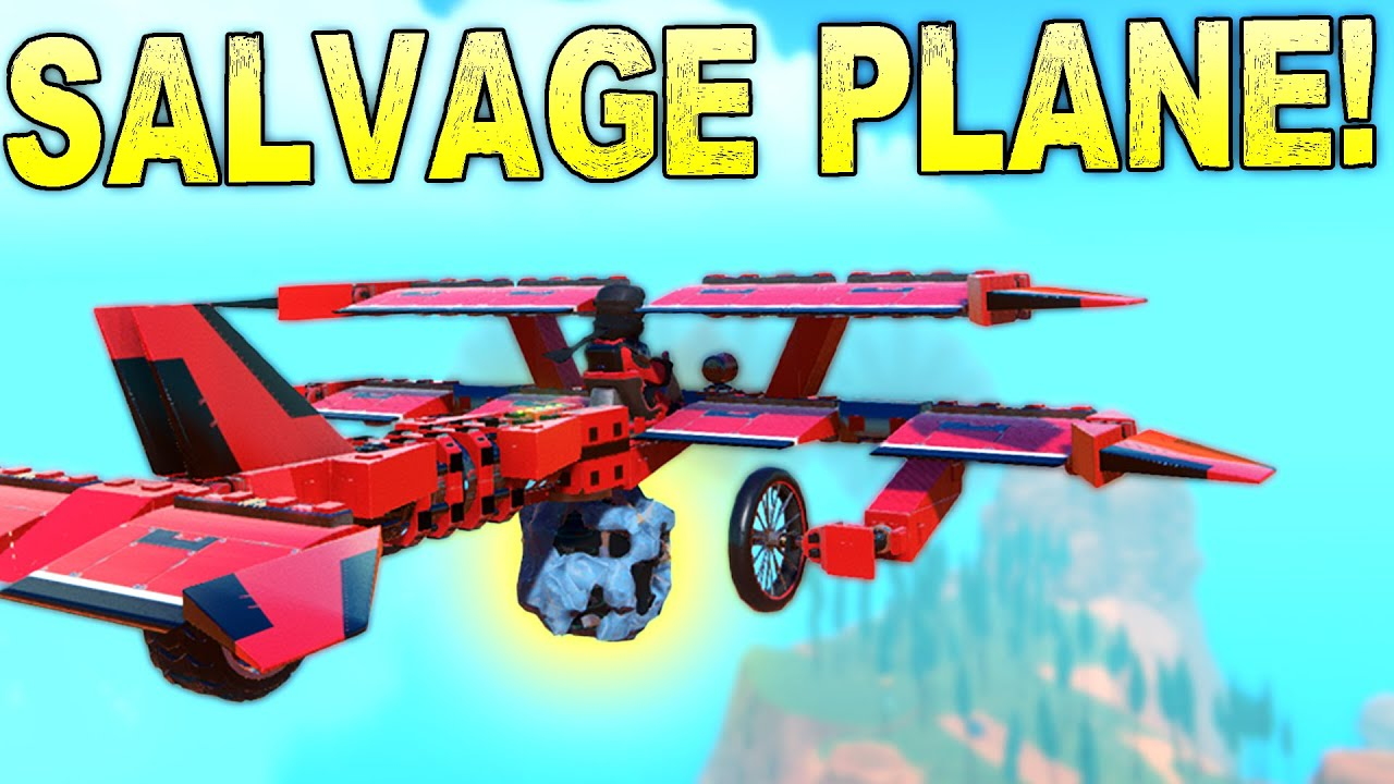 We Built Salvage Planes To Carry Loot Through The Air! - Trailmakers Stranded in Space