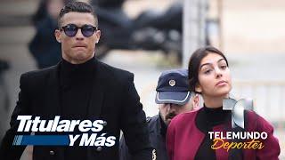 La severa multa no alteró la sonrisa de Cristiano Ronaldo | Telemundo Deportes