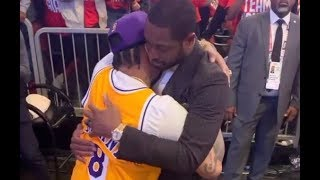 Iverson and Dywane Wade Break Down Crying After Kobe Bryant Tribute