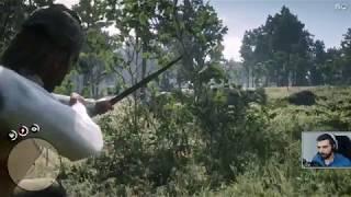 Red Dead Redemption 2 #17 - Polowanie na Legendarnego Łosia [eksploracja]