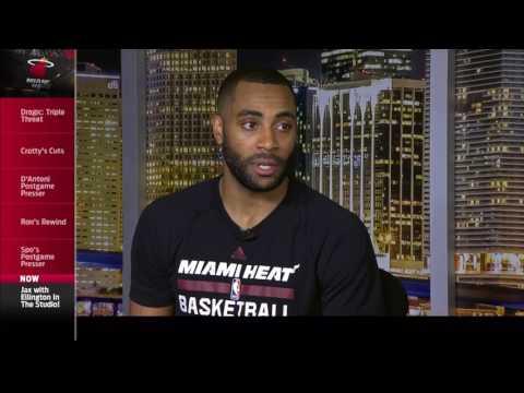 Wayne Ellington -- Miami Heat vs. Houston Rockets postgame 1/17/17