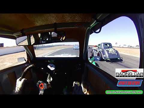 On Board Reverse Grid Legend Car Fun Australia