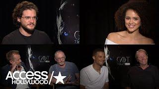 'Game Of Thrones': Kit Harington, Liam Cunningham, Nathalie Emmanuel & More On Success Of Show