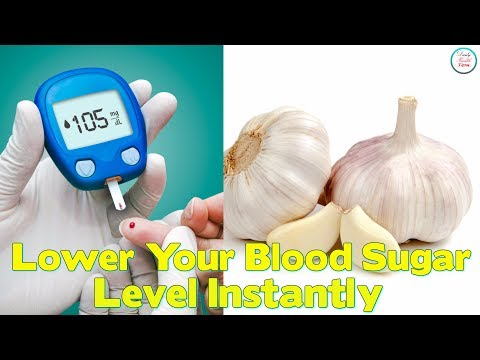 Lower Your Blood Sugar Level Instantly With These Foods