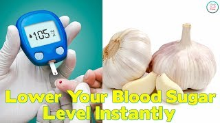 Lower Your Blood Sugar Level Instantly With These 12 Foods -- -- --...