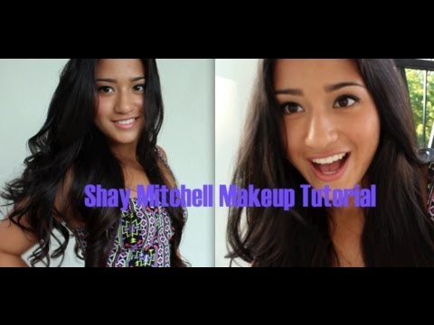 ♡Celebrity Inspired: Shay Mitchell Makeup♡ - YouTube