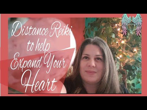 Distance Reiki Healing for Expanding Your Heart