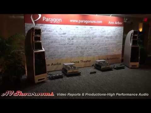Paragon Sight and Sound, Wilson Alexx speakers, Doshi Audio, Brinkmann, dCS, AXPONA