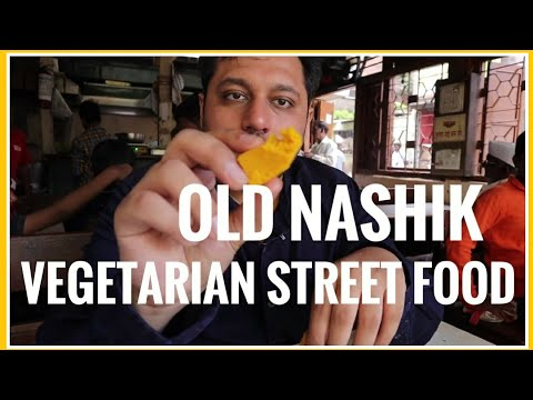 Old Nashik Vegetarian Street Food | Maharashtra Food
