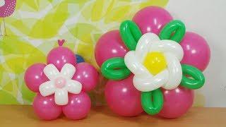 풍선아트 031 Round Balloon Flowers…