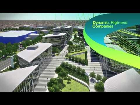 The new Adelaide Airport Business District