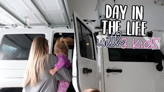 DAY IN THE LIFE OF A MOM WITH 3 KIDS | teresa & babies