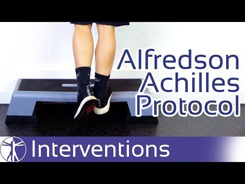 Alfredson Achilles Tendinopathy Rehab Protocol