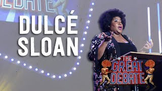 Dulcé Sloan (Negative) 2nd Speaker - The 29th Annual Great Debate 2018