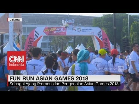 Fun Run Asian Games 2018