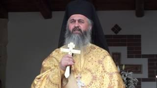 Arhim. Dumitru Cobzaru - Predica la Inaltarea Domnului, Manastirea Muntele Rece