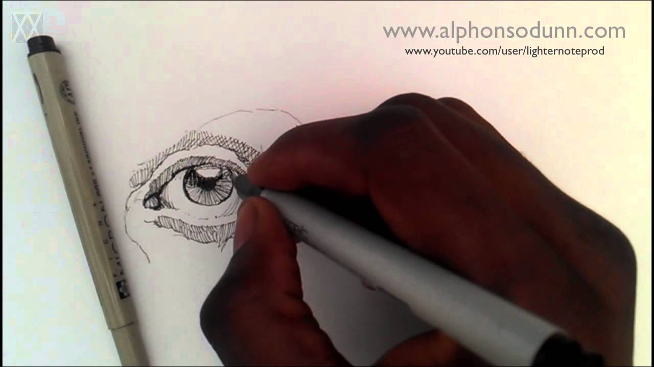Pen and ink drawing tutorials how to draw a realistic eye part i pen and ink drawing tutorials how to draw a realistic eye part i youtube ccuart Image collections