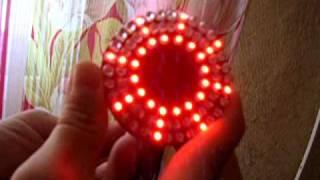 Вставка LED в задние фонари, стоп\габарит