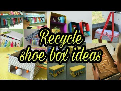 Recycle shoe box ideas   use of shoe box   diy shoe box craft   craft for kids     HMA##120