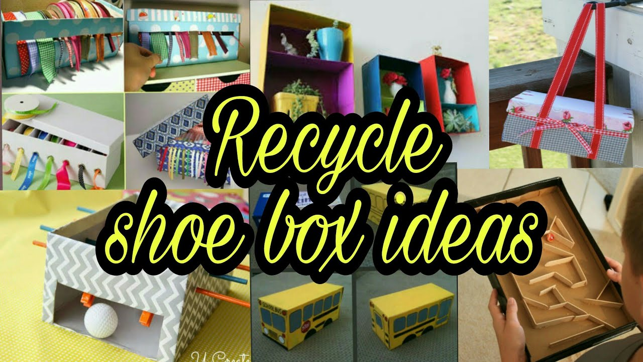 30 Shoe Box Craft Ideas: Recycle Shoe Box Ideas