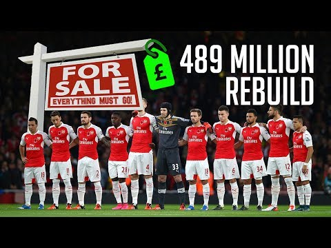 SELL THE WHOLE TEAM & REBUILD CHALLENGE W/ ARSENAL! FIFA 17 EXPERIMENT