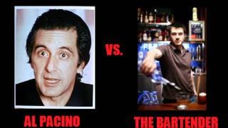 Al Pacino calls the guy from the bar