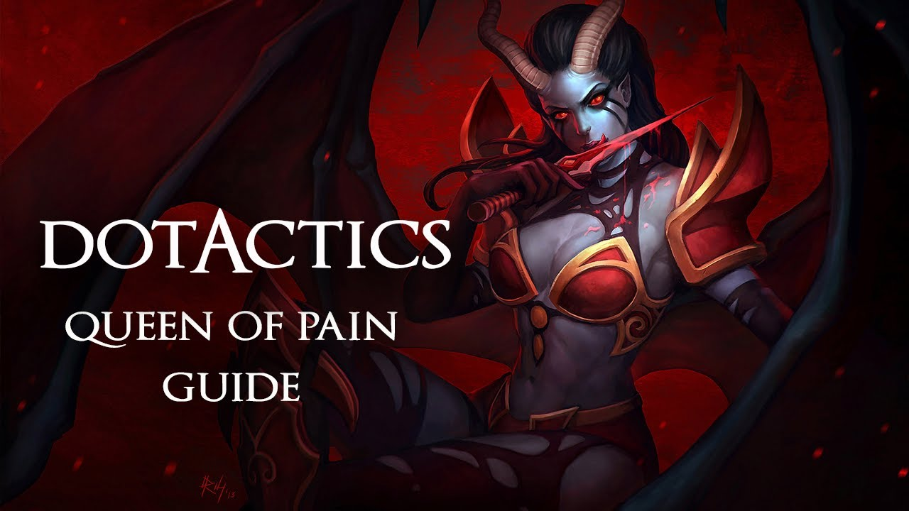Dota 2 - Queen of Pain Guide - YouTube
