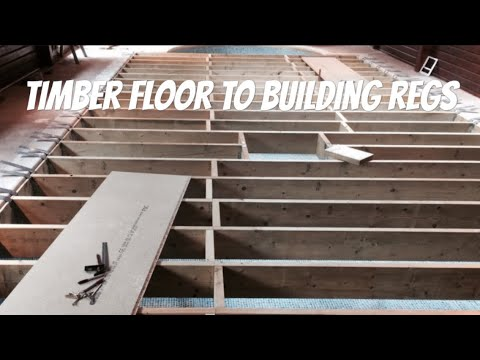 Constructing A Suspended Floor To Building Regs Youtube