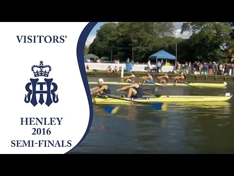 Brookes & Proteus v California Berkeley | Semi-Finals Day Henley 2016 | Visitors'