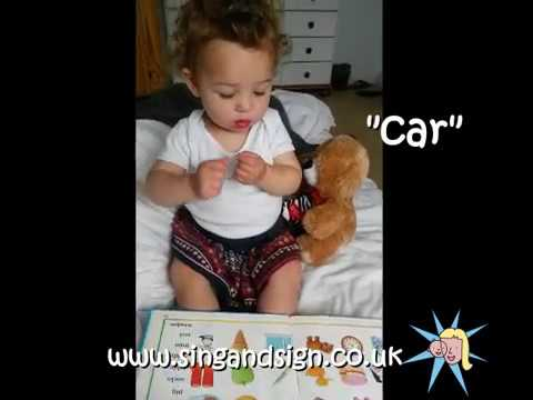 Sing and Sign in Action - A Book at Bedtime