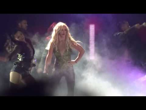 Britney Spears - Intro/Work Bitch - Live in HONG KONG (Asia World Expo Arena)