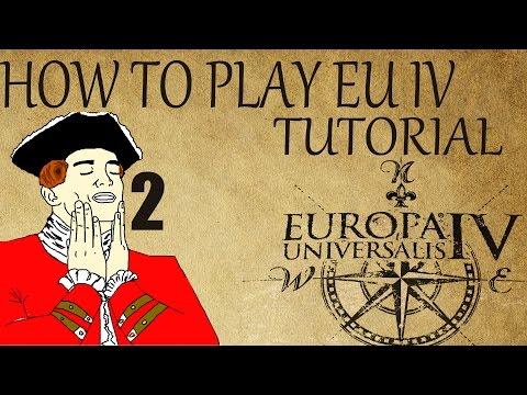 "How to Play EU4 Tutorial ""King and Kingdom / Basic Diplomacy"" #2 1.13.1"
