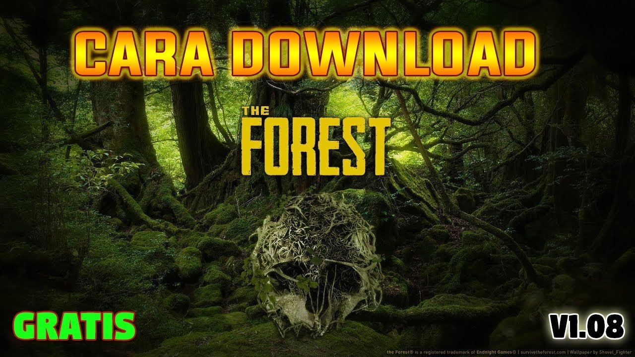 Cara Download Game | The Forest | GRATIS PC 2018