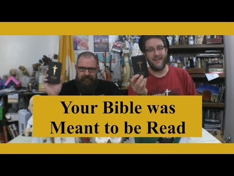 Wordy Wednesday: Your Bible was Meant to be Read