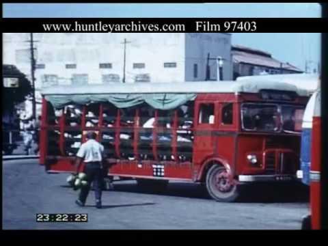Bridgetown Barbados, 1960s - Film 97403