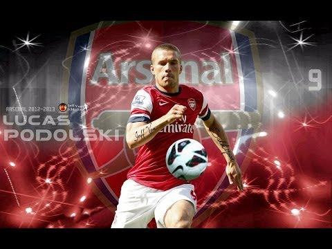 Lukas Podolski - Arsenal FC ►Skills & Goals - 2013/14 - HD