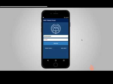 How to use CMC Vellore's mobile app for bookings and payments