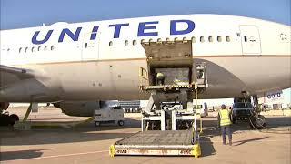Behind the scenes: How United cargo planes transport COVID-19 vaccine