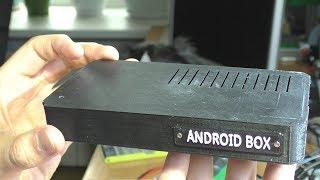 САМОДЕЛЬНЫЙ ANDROID TV BOX из сломанного планшета (3D печать)