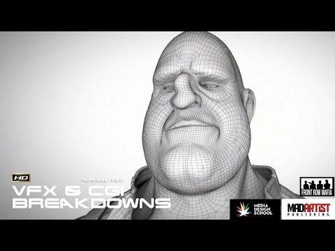 VFX & CGI Breakdowns of Short Film IMPASSE by Media Design School & James Halll