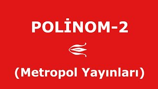 YÖS MAT-2 (POLİNOM-2,Metropol Yayınları)