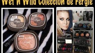 Primera Impresion y Look de la Coleccion de Fergie y Wet n WIld
