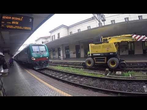 Milan To Genoa By Train Via Riomaggiore, Cinque Terre, Italy