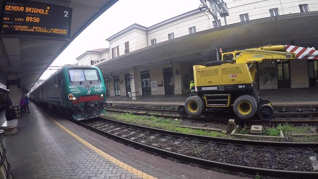 milan to genoa by train via riomaggiore, cinque terre, italy - youtube
