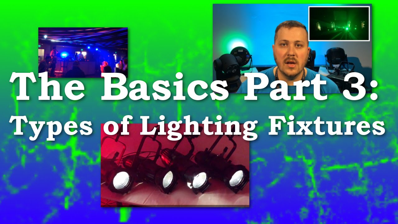 Types of lighting fixtures the basic 3