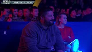 World Elite Armwrestling Grand Prix, Chisinau Manej Arena, Local Time 18:00