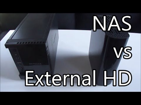 Difference between a NAS and External Hard drive