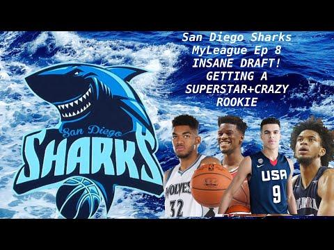 San Diego Sharks MyLeague Ep 8 INSANE DRAFT! GETTING A SUPERSTAR+CRAZY ROOKIE